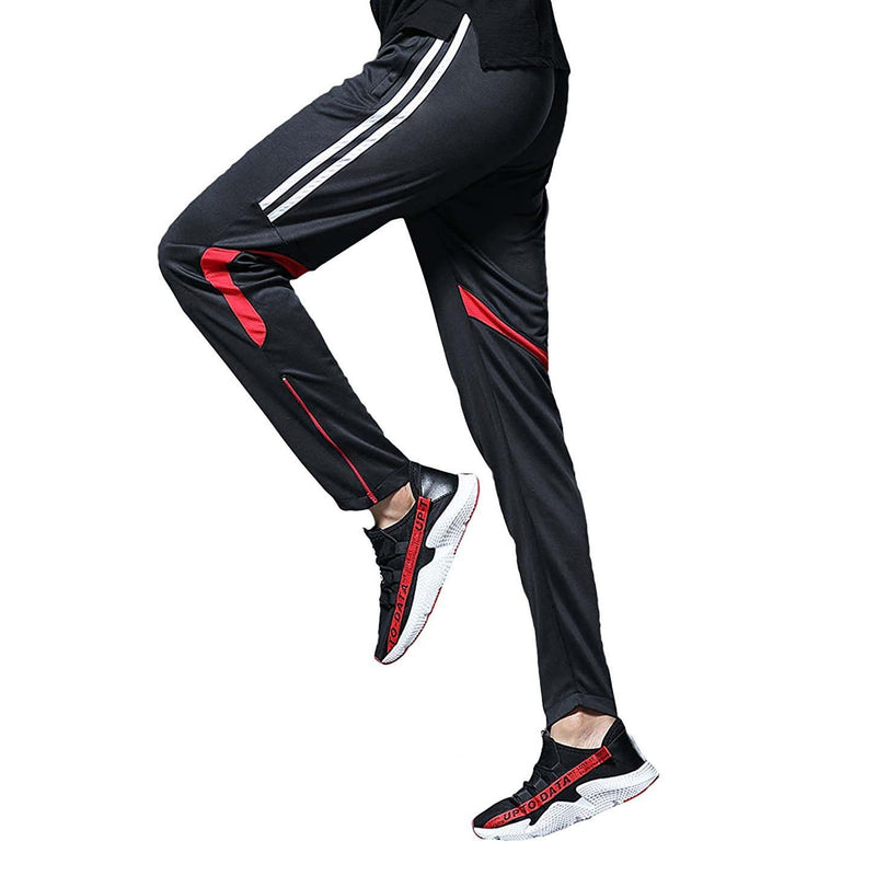 Geek Lighting Mens Active Soccer Training Pants Casual Gym Jogger Sweatpants 10