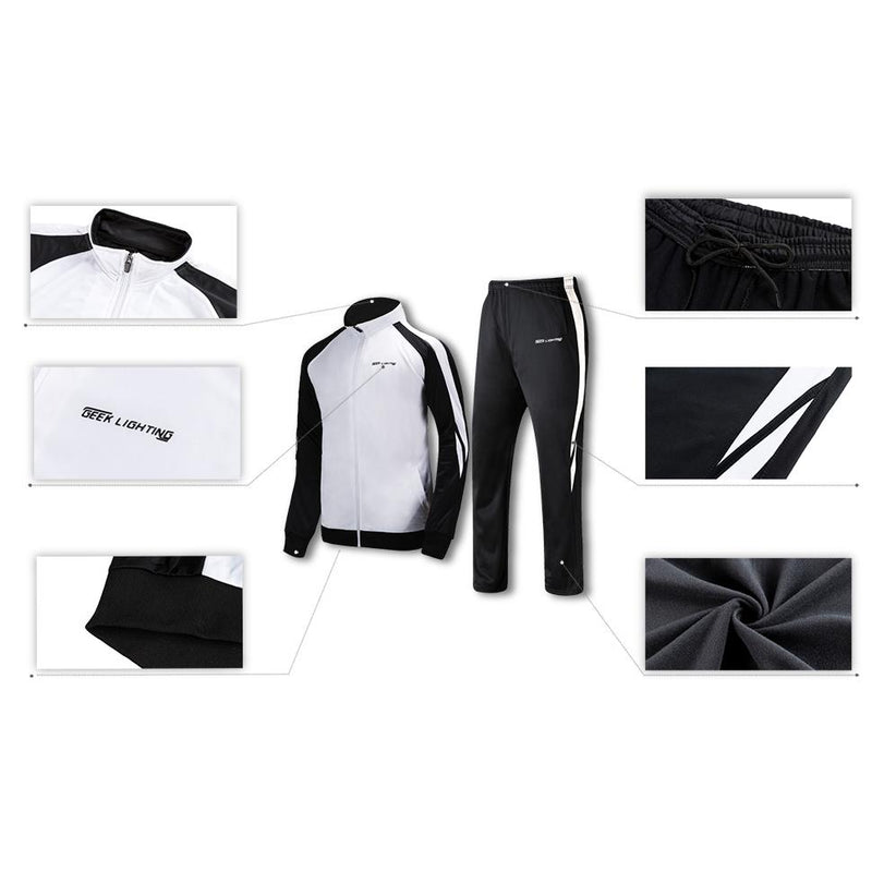 Geek Lighting Mens Athletic 2 Piece Track Suits Set 11