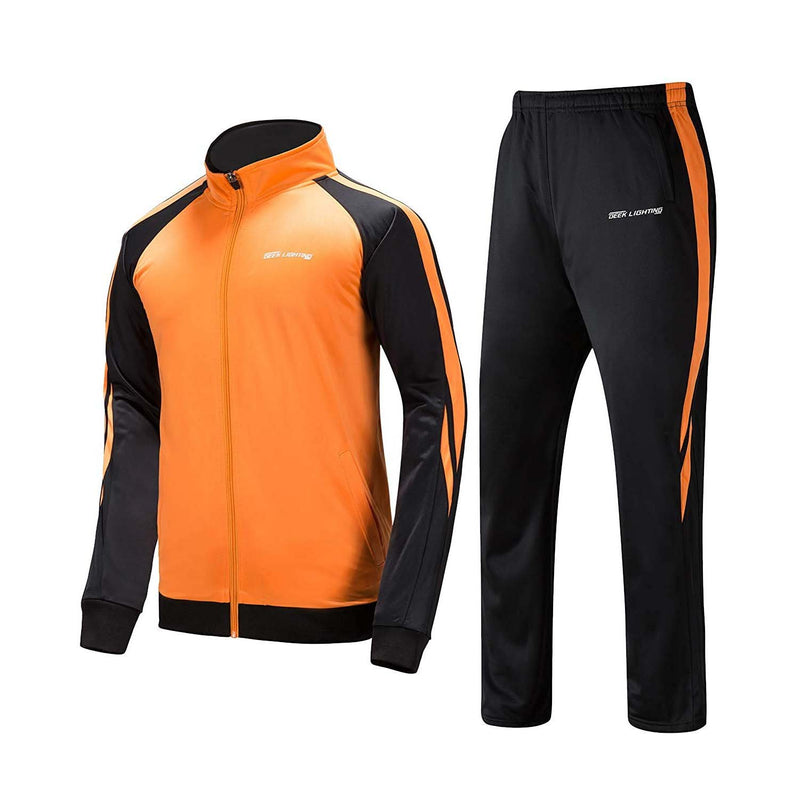 Geek Lighting Mens Athletic 2 Piece Track Suits Set 2