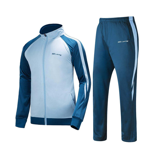 Geek Lighting Mens Athletic 2 Piece Track Suits Set 1
