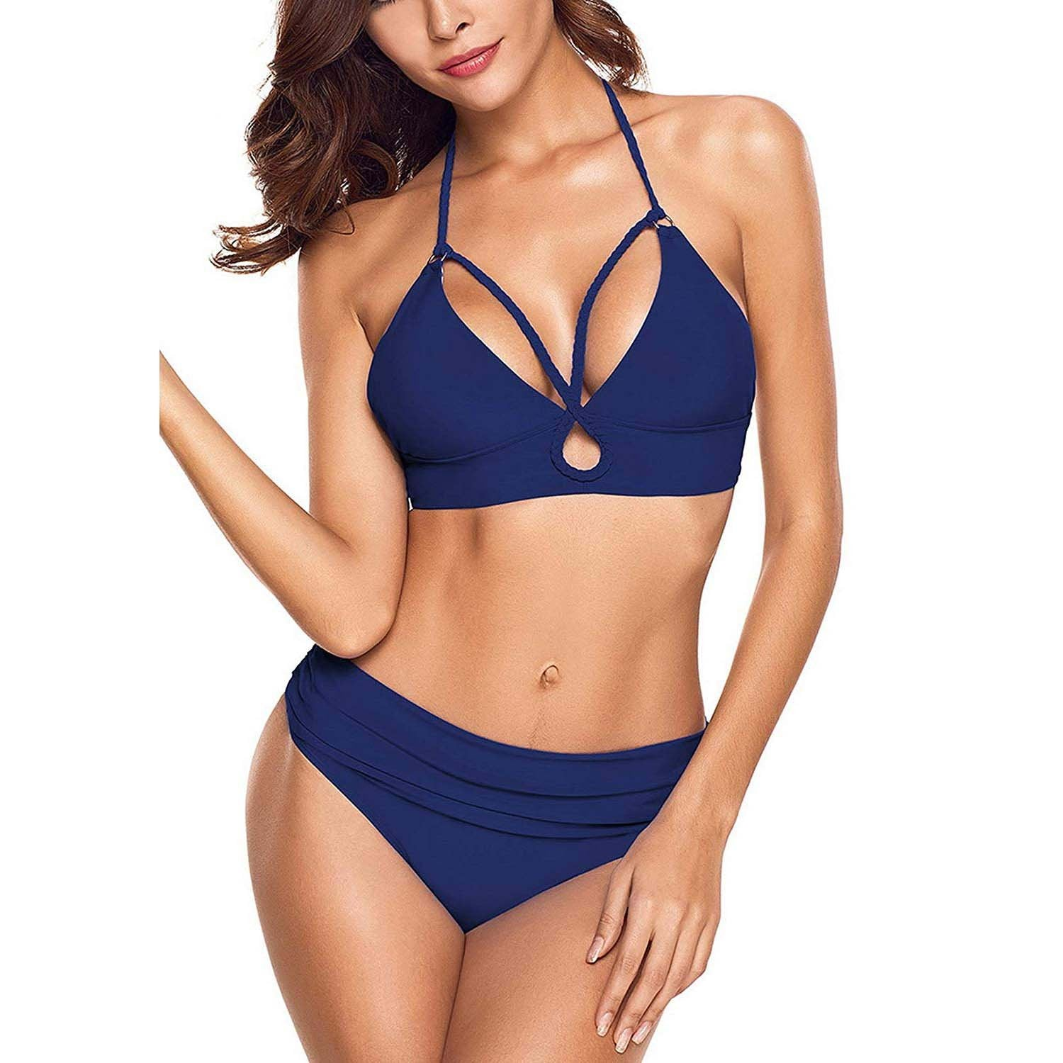 classic fit latest selection of 2019 exceptional range of styles and colors Geek Lighting Women Girls 2 Piece Swimsuits High Waisted ...