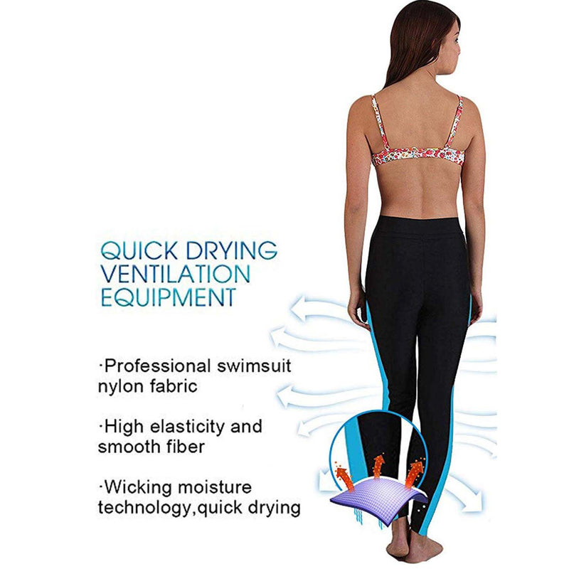 Geek Lighting Womens Wetsuit Pants Uv Protective Surfing Tights Board Diving Canoing Pants 12
