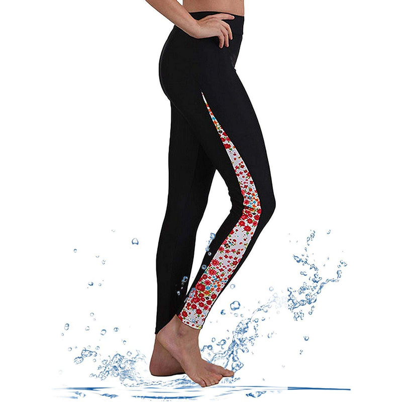 Geek Lighting Womens Wetsuit Pants Uv Protective Surfing Tights Board Diving Canoing Pants 2