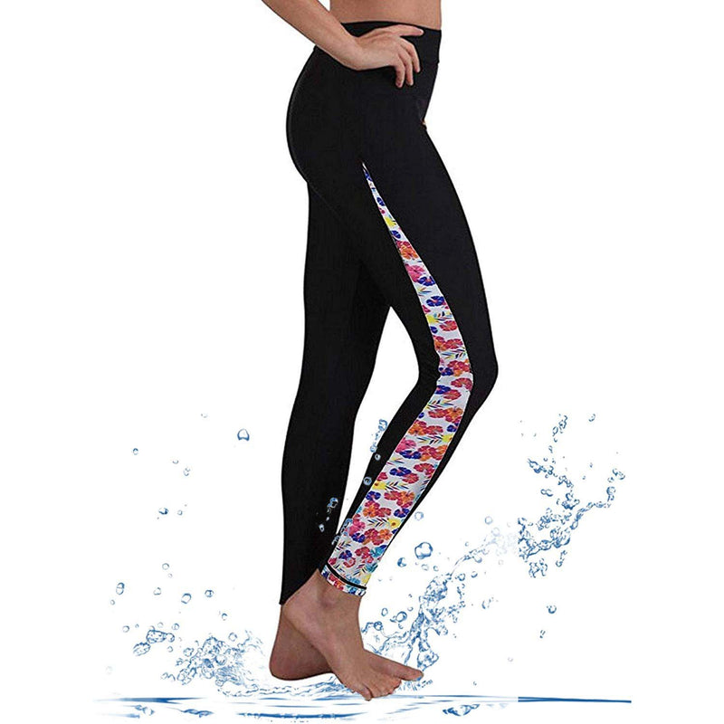 Geek Lighting Womens Wetsuit Pants Uv Protective Surfing Tights Board Diving Canoing Pants 3