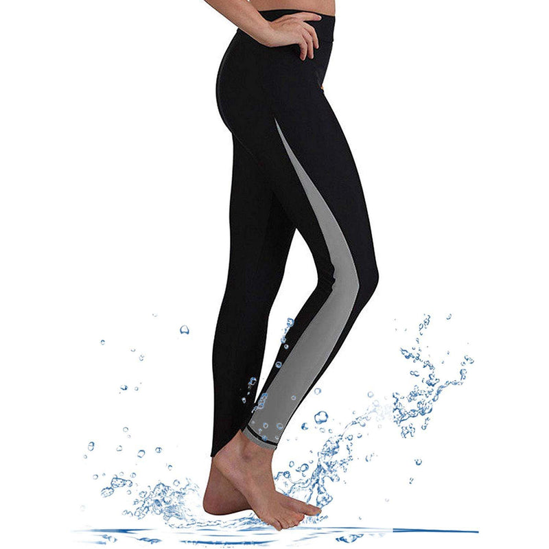 Geek Lighting Womens Wetsuit Pants Uv Protective Surfing Tights Board Diving Canoing Pants 5