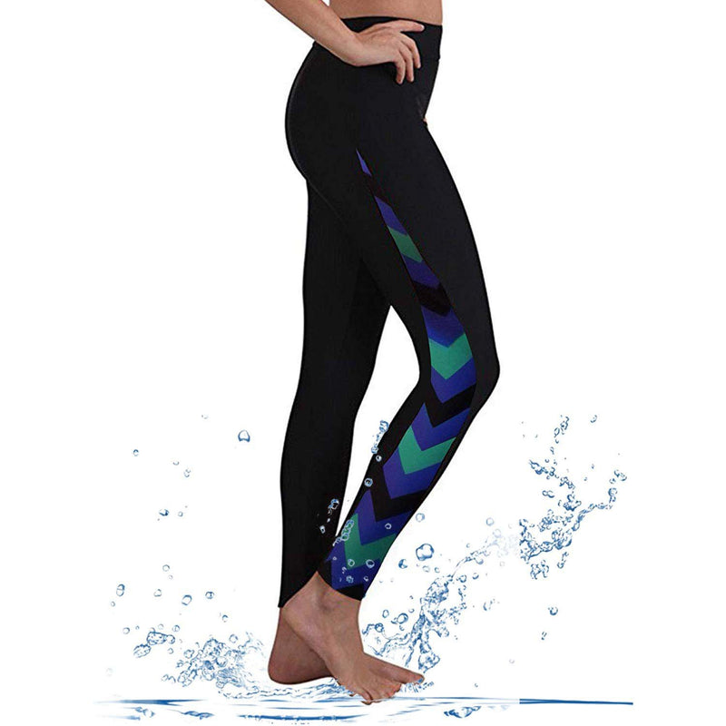 Geek Lighting Womens Wetsuit Pants Uv Protective Surfing Tights Board Diving Canoing Pants 8