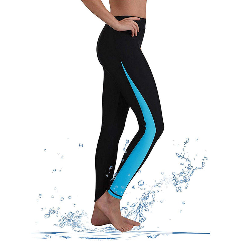 Geek Lighting Womens Wetsuit Pants Uv Protective Surfing Tights Board Diving Canoing Pants 1