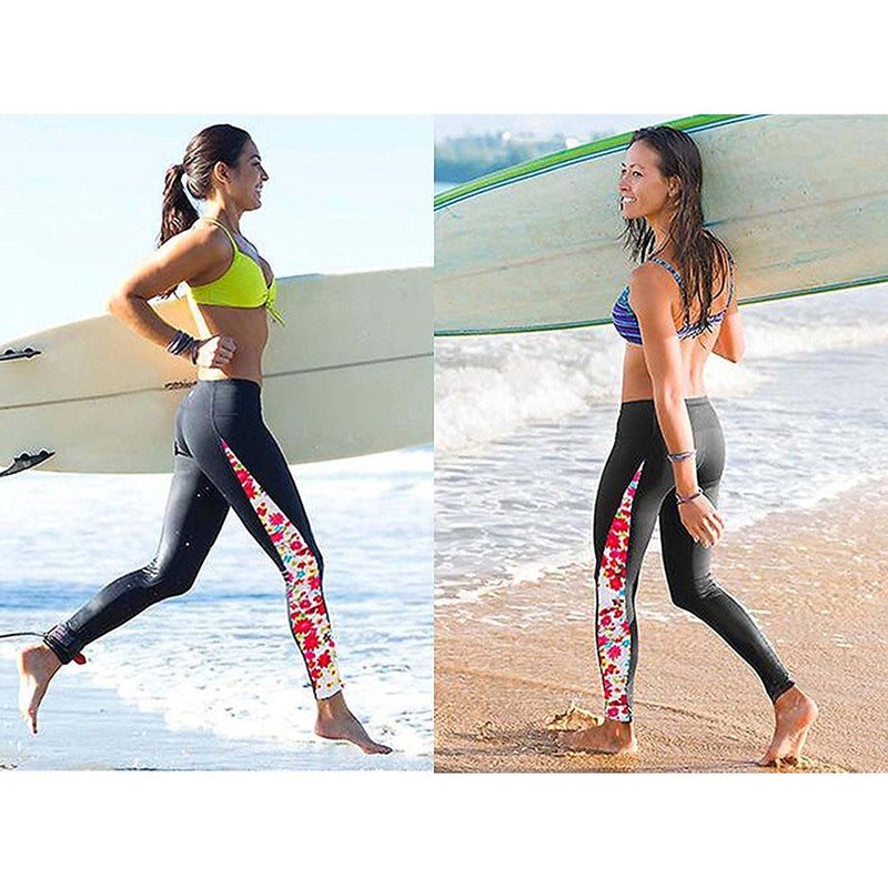Geek Lighting Womens Wetsuit Pants Uv Protective Surfing Tights Board Diving Canoing Pants 9
