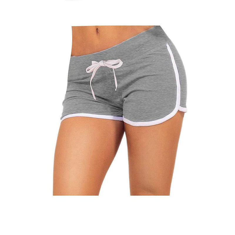 Little Beauty Womens Yoga Elastic Waist Running Athletic Shorts 11