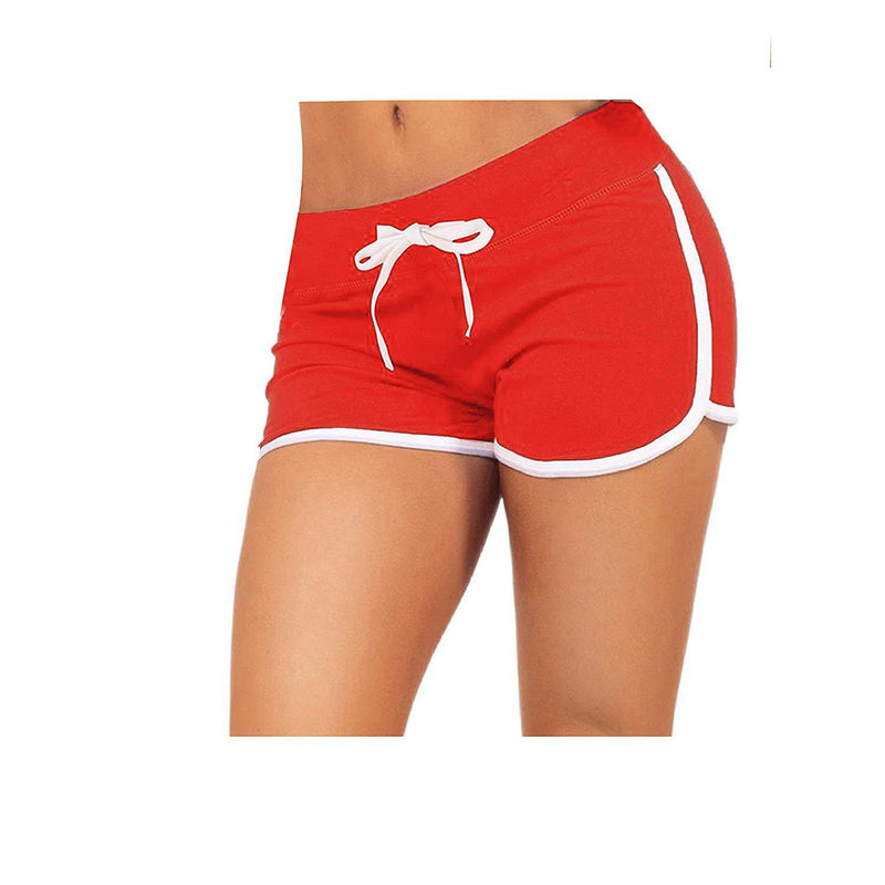 Little Beauty Womens Yoga Elastic Waist Running Athletic Shorts 3