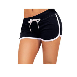 Little Beauty Womens Yoga Elastic Waist Running Athletic Shorts 4