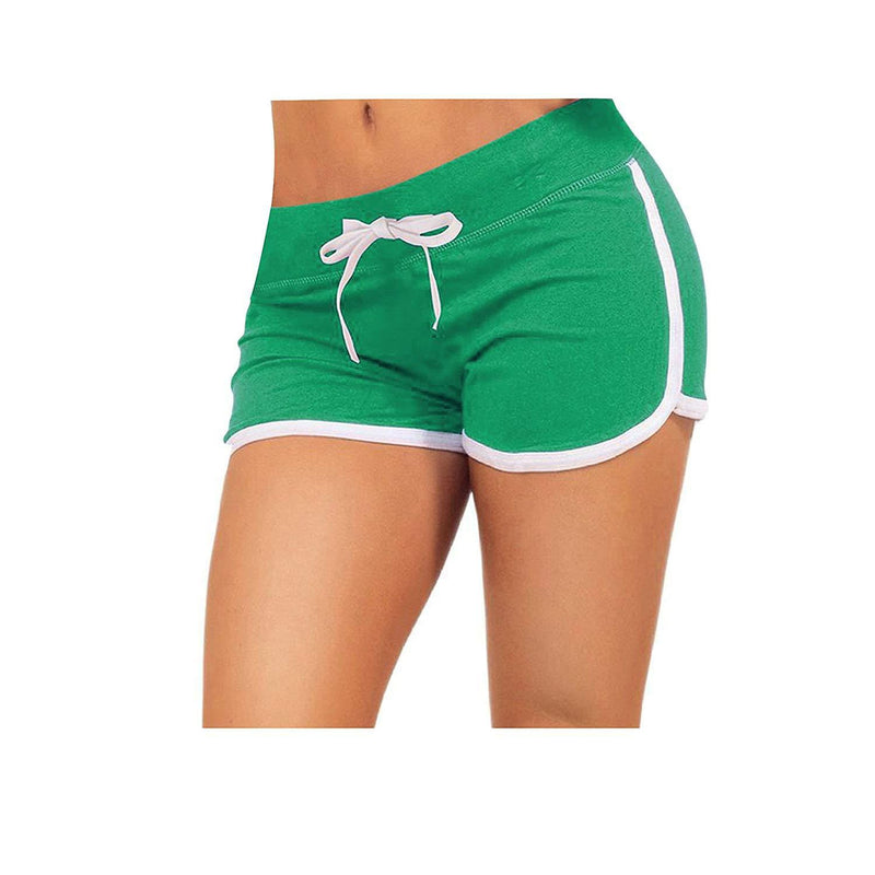 Little Beauty Womens Yoga Elastic Waist Running Athletic Shorts 6