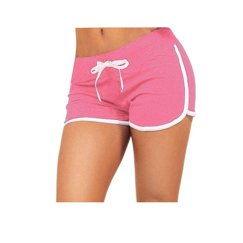 Little Beauty Womens Yoga Elastic Waist Running Athletic Shorts 7