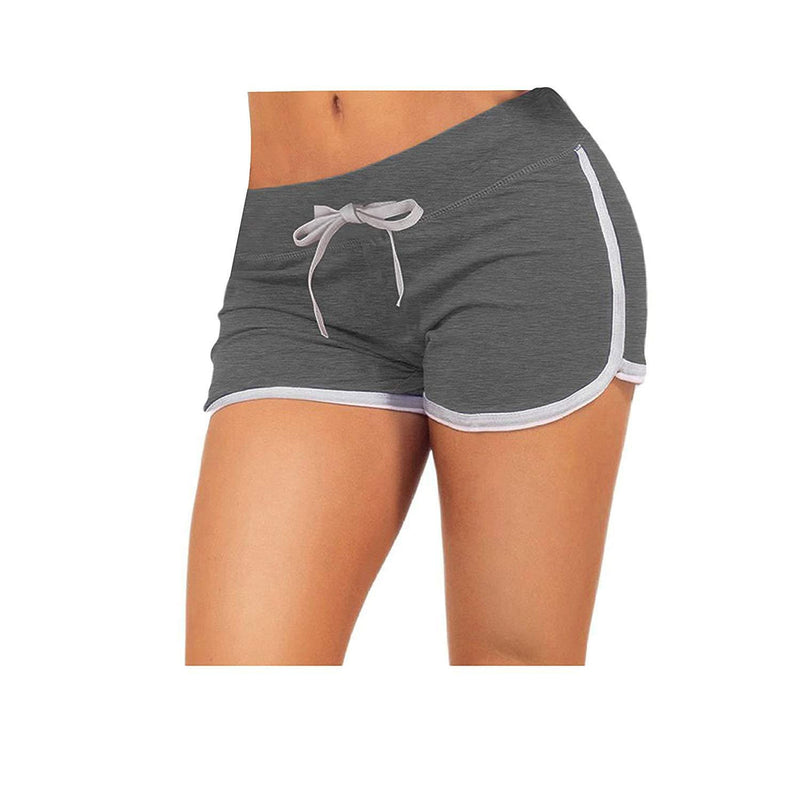 Little Beauty Womens Yoga Elastic Waist Running Athletic Shorts 9