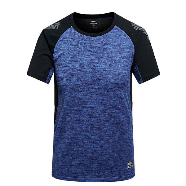 Men's sports t-shirt patterns sublimation new design sports t shirts, sports t-shirt for men,blue,2XL