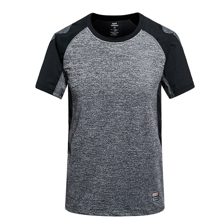 Men's sports t-shirt patterns sublimation new design sports t shirts, sports t-shirt for men,dark gray,2XL