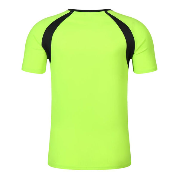 New wholesale 100% polyester sport dryfit tshirt,GREEN ,XL