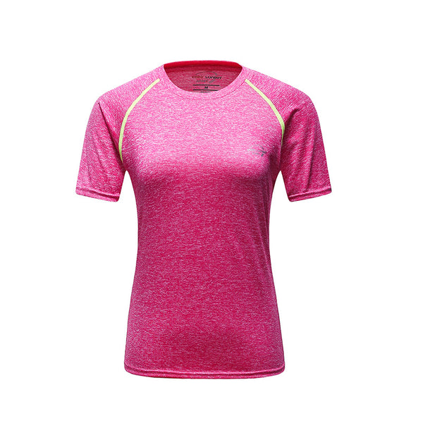 Sportswear clothing women sports tshirts,L