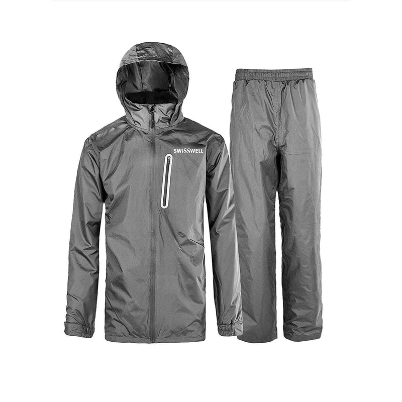 Swisswell Rain Suit For Men Waterproof Hooded Rainwear 3