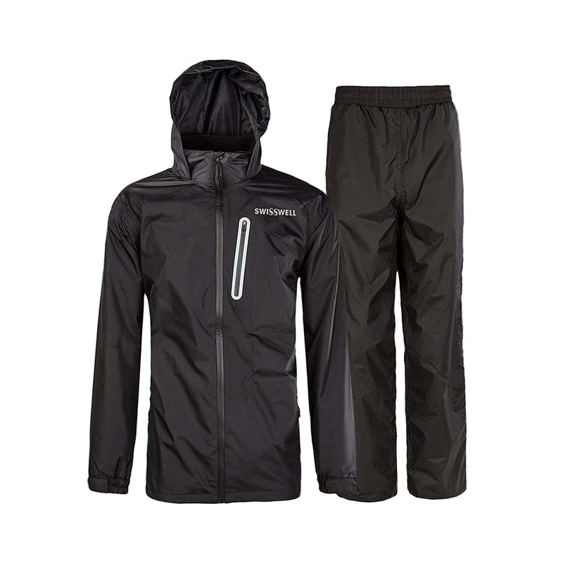 Swisswell Rain Suit For Men Waterproof Hooded Rainwear 4