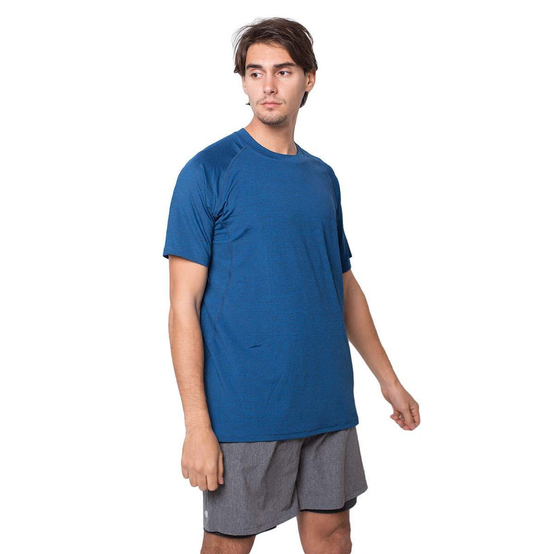 ZITY Athletic T-Shirt Sportswear Men's 100% Polyester Moisture-Wicking Training Short-Sleeve Quick Dry T-Shirt 2