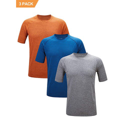 ZITY Athletic T-Shirt Sportswear Men's 100% Polyester Moisture-Wicking Training Short-Sleeve Quick Dry T-Shirt 1