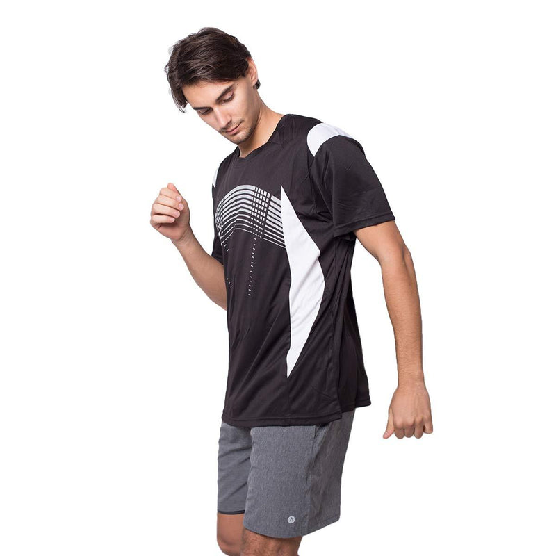 ZITY Athletic T-Shirt Sportswear Men's 100% Polyester Moisture-Wicking Training Short-Sleeve Quick Dry T-Shirt 4