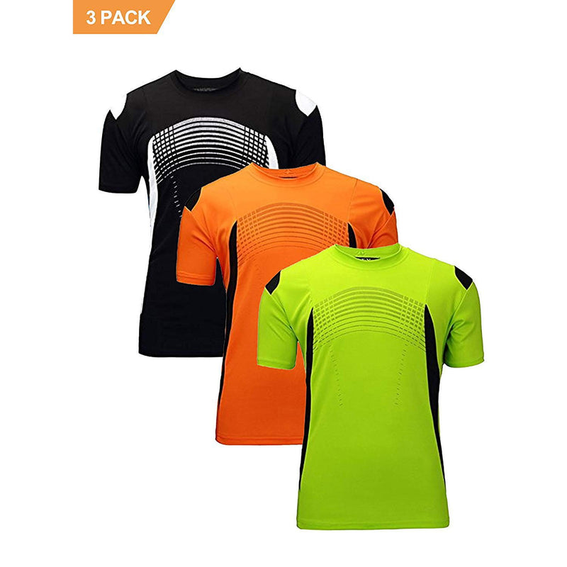 ZITY Athletic T-Shirt Sportswear Men's 100% Polyester Moisture-Wicking Training Short-Sleeve Quick Dry T-Shirt 8