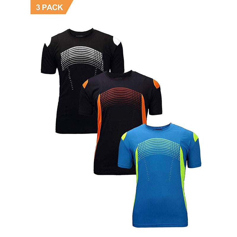 ZITY Athletic T-Shirt Sportswear Men's 100% Polyester Moisture-Wicking Training Short-Sleeve Quick Dry T-Shirt 9