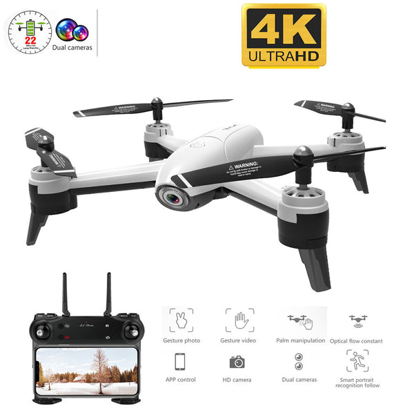 profession WiFi FPV RC Drone 4K Camera Optical Flow 1080P HD Dual Camera Aerial Video RC Quadcopter Quadrocopter Drone