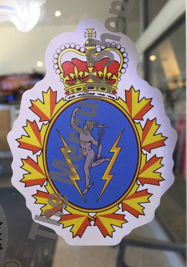 Decal C and  E Crest