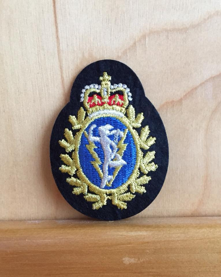Hat Badge C and E  NCM