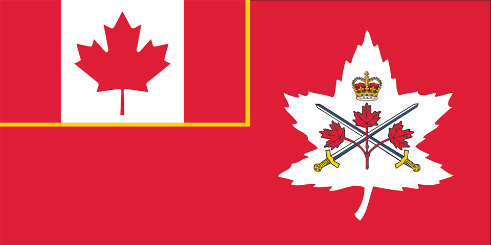 Flag - Canadian Army