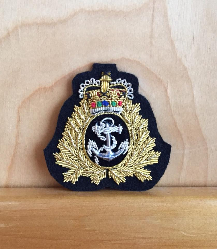Hat Badge Navy Officer