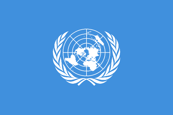 Flag - United Nations