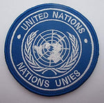 Velcro Patch United Nations