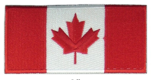 Cadpat Velcro Canadian Flags - Assorted Styles