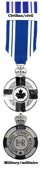 Meritorious Service Medal (M.S.M.)