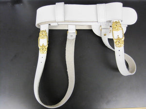 Sword Belt White Ceremonial