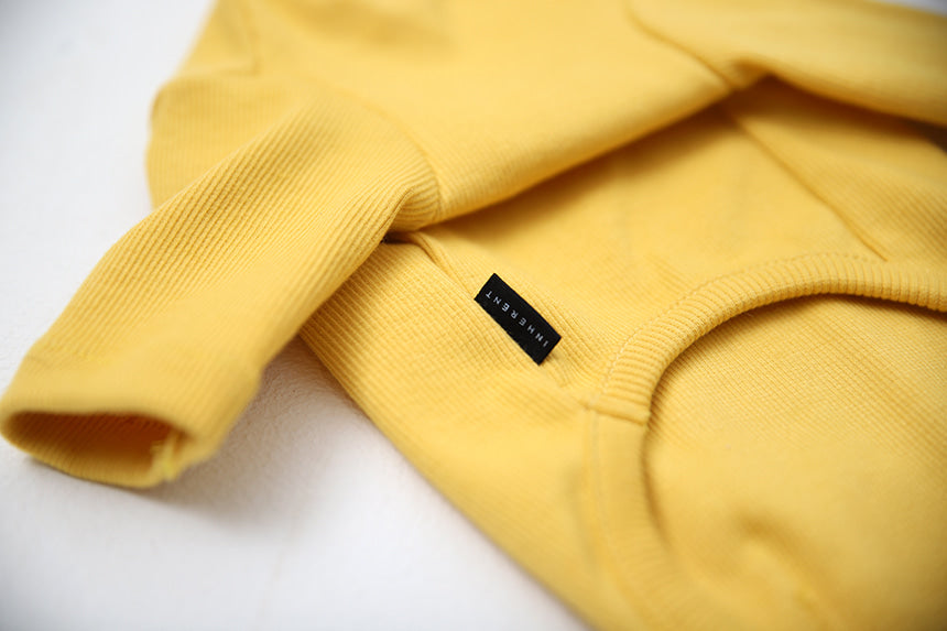 GELATO . SLEEVE . YELLOW