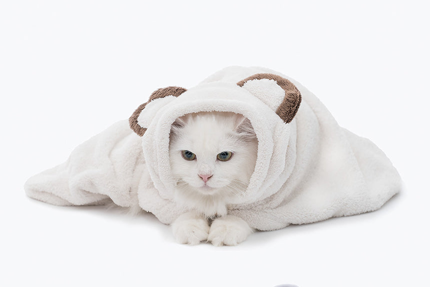 Animal Hood Towel . Bear