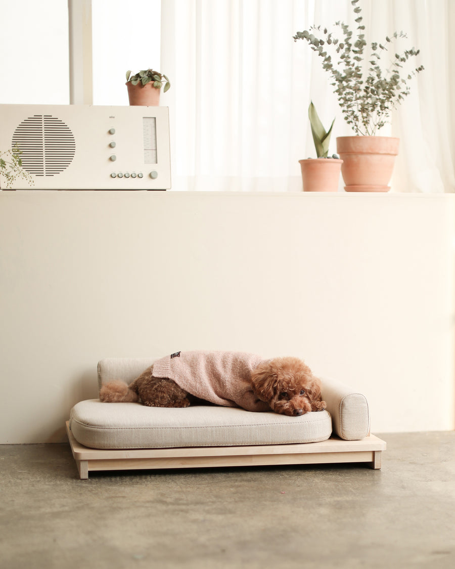 Linden Day Bed . Oatmeal