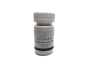 10 mg Full-Spectrum Hemp Extract Capsules