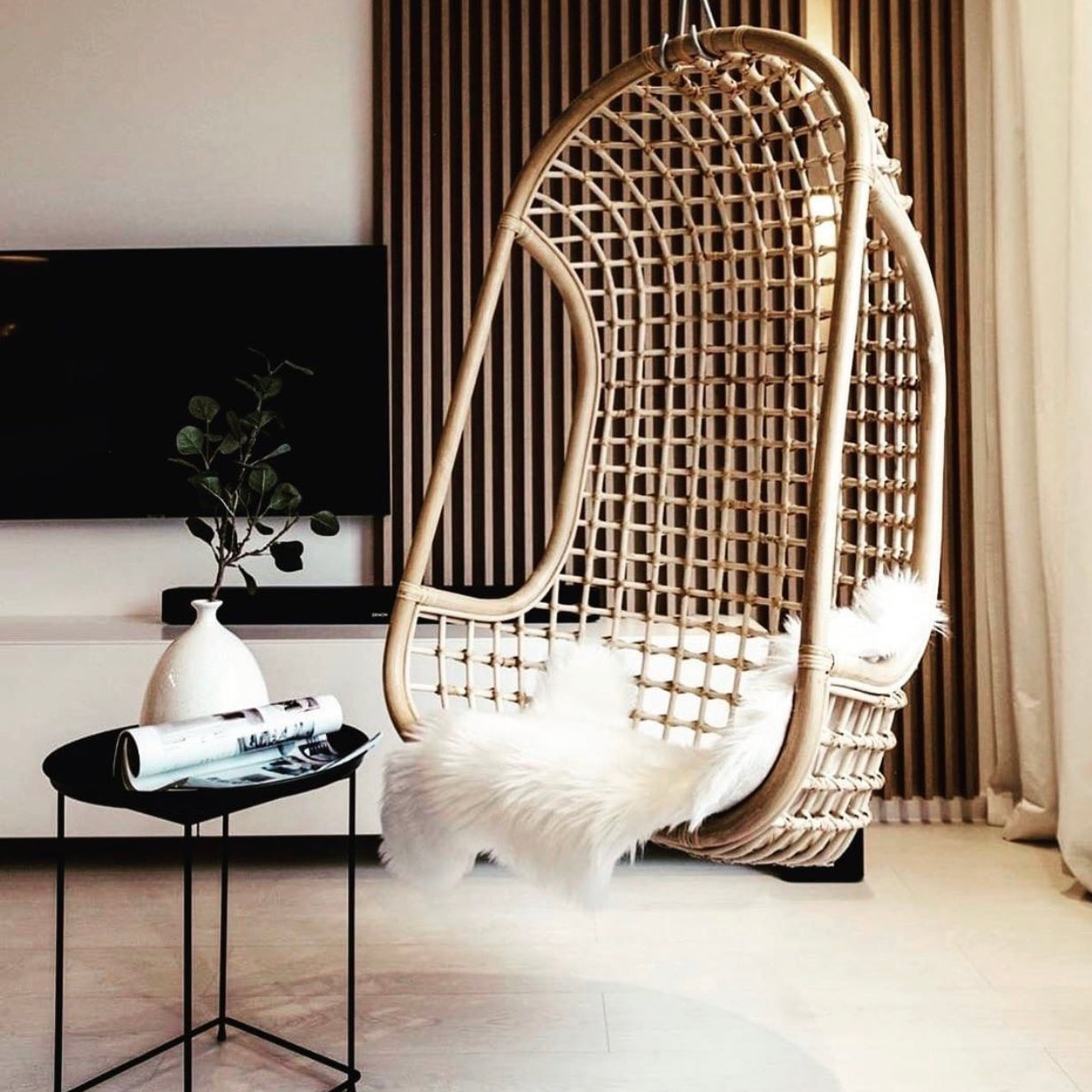Rattan Opium Hanging Chair