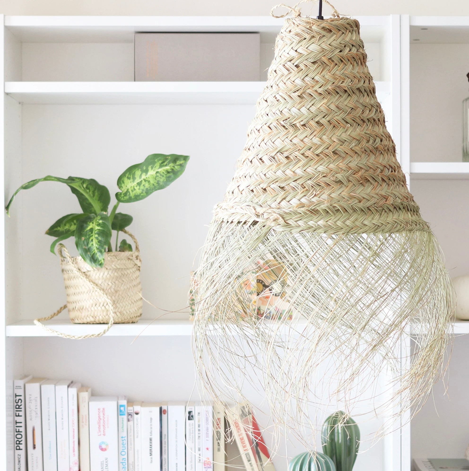 Seagrass Jaipur Organic Pendant Light