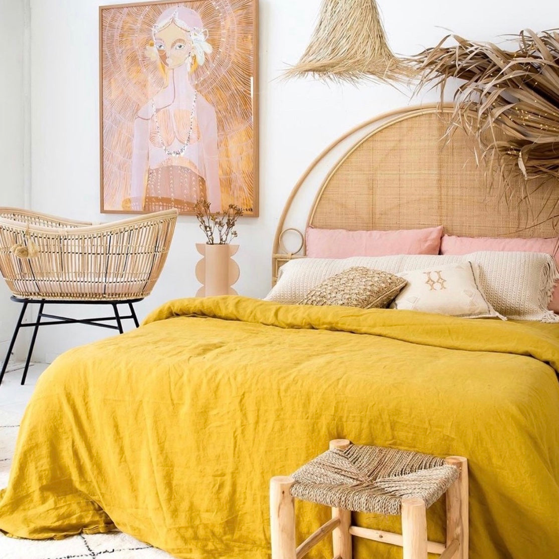 Sunday Rattan Headboard