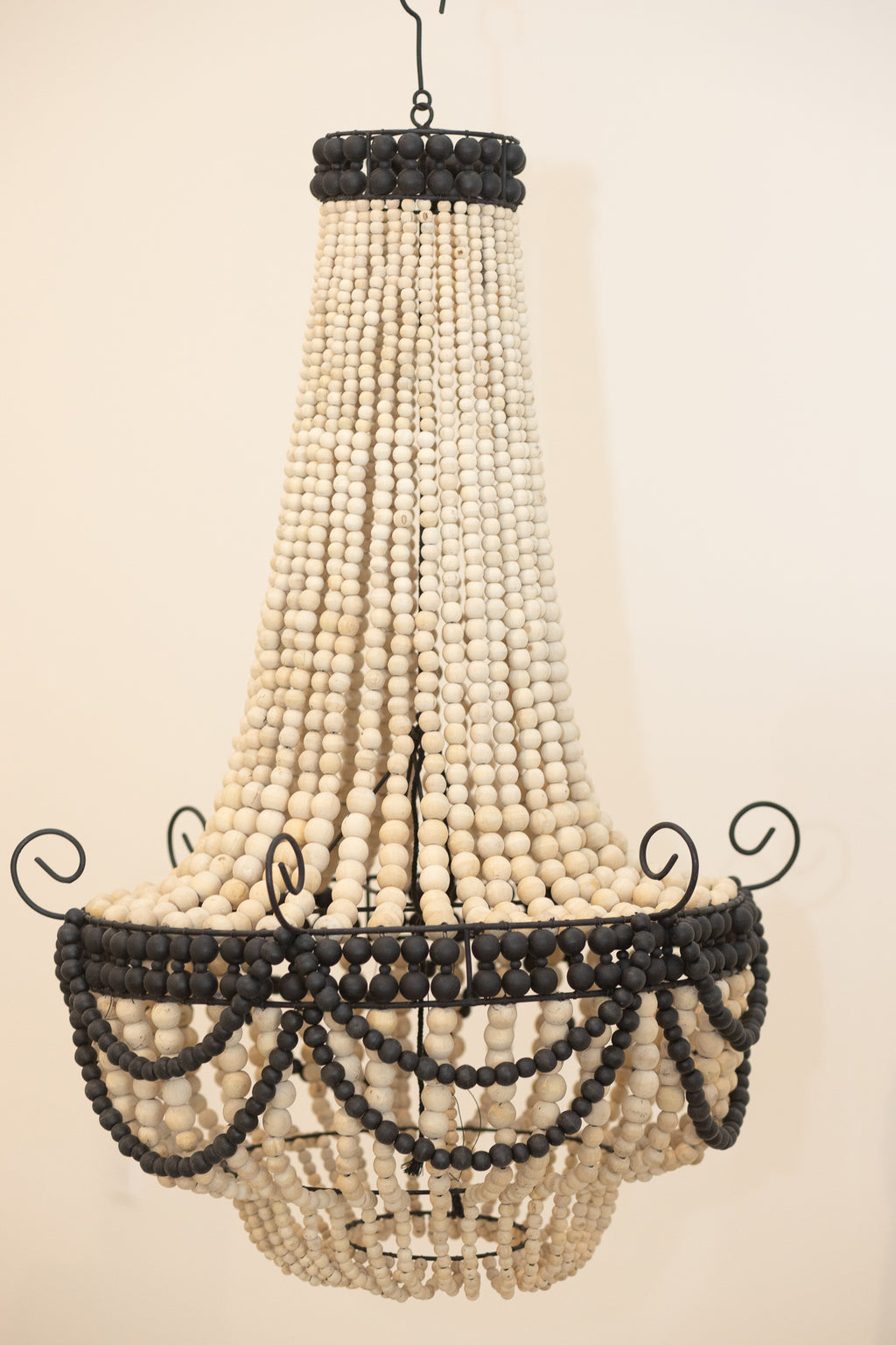 Large Chandelier Pendant Beaded Light Zora