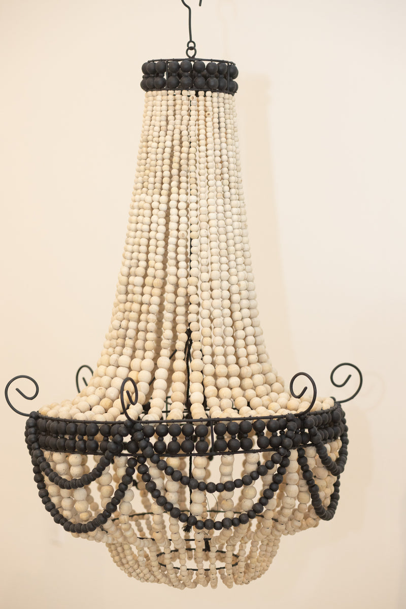 Chandelier Pendant Beaded Light Zora