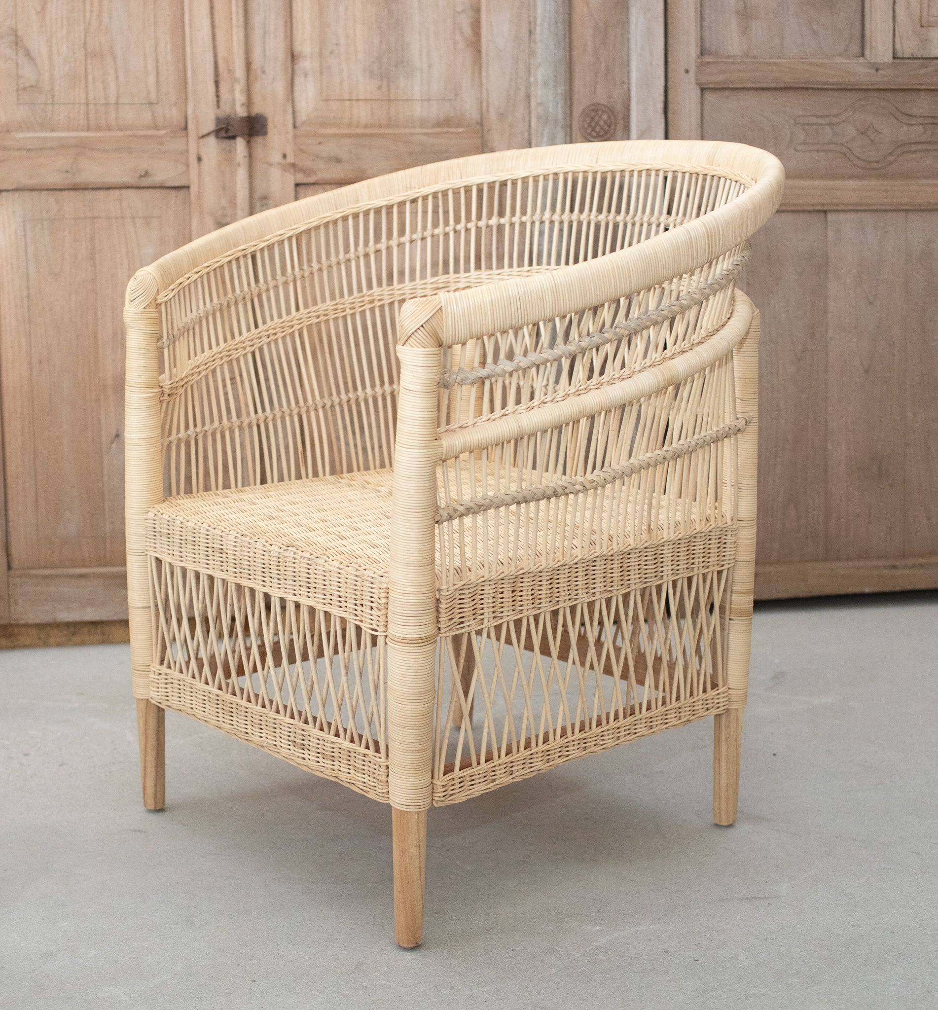 Malawi Natural Rattan Chair Made To Order