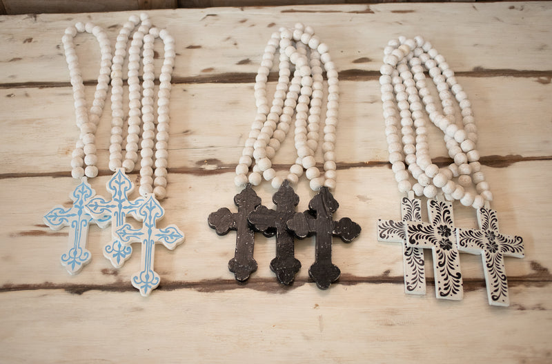 Ethiopian Beaded Cross